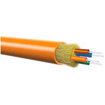 Câble optique de données / type mini-breakout / sans halogène / pour usage intérieur