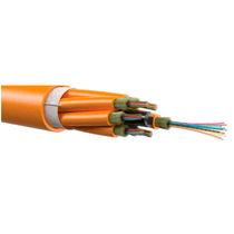 Câble optique de données / type MPO / isolé / multifibre
