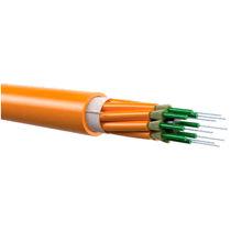 Câble optique de données / résistant au feu / à structure serrée / type mini-breakout