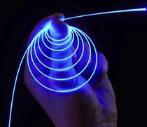 Fibre optique pour l'éclairage / multimode / en verre