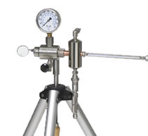 Analyseur pour biogaz / du point de rosée / portable