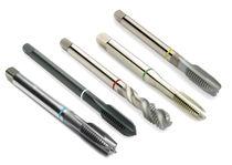Taraud monobloc / pour acier / matériau spécifique