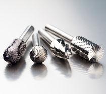 Fraise conique / lime / pour métal / à queue cylindrique
