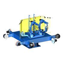 Positionneur de soudage motorisé / rotatif / 2 axes / pour robot