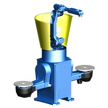 Positionneur motorisé / rotatif / vertical / 2 axes