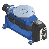 Positionneur de soudage motorisé / rotatif / vertical / 2 axes