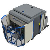 Cellule robotisée de soudage à l'arc / pour machine outil / pour petites pièces / flexibilisé