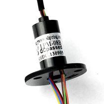 Collecteur tournant électrique / pour drone / compact / immunisé contre le bruit