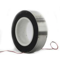 Collecteur tournant électrique / pour grue / pour banderoleuse / de grand diamètre