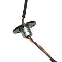 Collecteur tournant électrique / à capsule / miniature / analogique