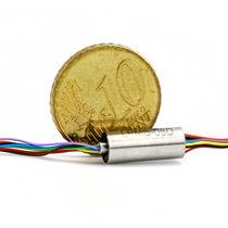 Collecteur tournant électro-optique / à capsule / robotique / pour drone