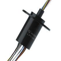 Collecteur tournant électrique / pour caméra infrarouge / pour applications de vidéosurveillance / immunisé contre le bruit