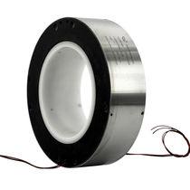 Collecteur tournant électrique / à axe creux / pour éolienne / pour grue
