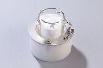 Filtre à gaz / à cartouche / basse pression / en verre