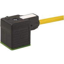 Connecteur d'alimentation électrique / rectangulaire / pour électrovanne