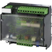 Convertisseur analogique / numérique / série / isolé / à montage sur rail DIN