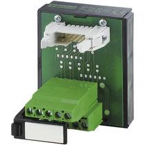 Connecteur de données / rectangulaire / enfichable / pour câble flexible plat