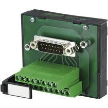 Connecteur de données / D-Sub / mâle / verrouillable par vis