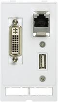 Connecteur de données / RJ45 / USB / DIN