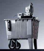 Réservoir en aluminium / sous pression / de collecte de fluides / vertical
