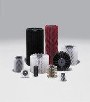 Brosse cylindrique / pour lavage / pour dépoussiérer / pour ébavurage