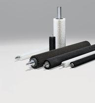 Rouleau brosse cylindrique / pour lavage / pour convoyage