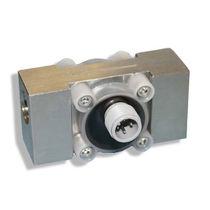Débitmètre à turbine / pour liquide corrosif / en ligne