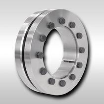 Accouplement rigide / frette de serrage double disque