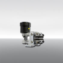Étrier de frein à disque / desserrage hydraulique / serrage à ressort