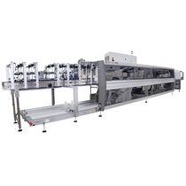 Fardeleuse automatique / pour bouteilles / pour carton / de manutention des boîtes