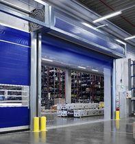 Portes à enroulement / en aluminium / industrielles / de hangar