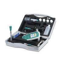 PH mètre portable / de laboratoire / numérique / avec conductimètre