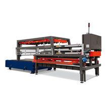 Table navette automatique / pour déchargement / pour machine de découpe laser / pour chargement
