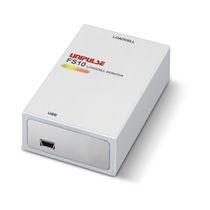 Capteur de force en compression / type bloc / pour la connexion USB à un PC