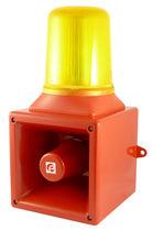 Diffuseur d'alarme sonore IP65 / avec feu à LED / avec feu de signalisation