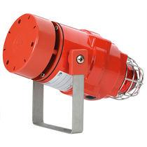 Diffuseur d'alarme sonore antidéflagrant / avec feu au xénon / avec feu de signalisation
