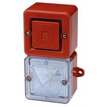Diffuseur d'alarme sonore avec feu au xénon / avec feu de signalisation