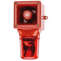 Diffuseur d'alarme sonore avec feu tournant / avec feu de signalisation
