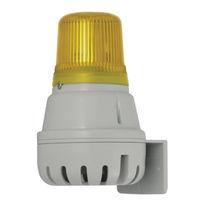 Diffuseur d'alarme sonore avec feu à LED / avec feu de signalisation
