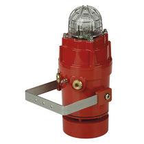 Diffuseur d'alarme sonore antidéflagrant / IP66 / avec feu au xénon / avec feu de signalisation