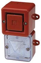 Klaxon d'alarme incendie / avec feu au xénon