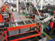 Ligne de lavage à eau / automatique / pour le recyclage / avec convoyeur à bande