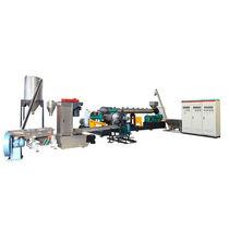 Granulateur en tête à anneau d'eau / pour la fabrication de granulés en plastique
