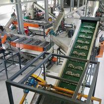 Ligne de lavage à eau / automatique / pour le recyclage / pour bouteilles