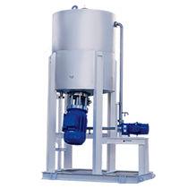 Mélangeur rotor-stator / continu / solide / pour polymères