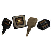 Connecteur de données / rectangulaire / enfichage à l'aveugle / auto-centreur