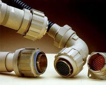 Connecteur d'alimentation électrique / circulaire / avec raccord à vis / en plastique