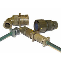 Connecteur d'alimentation électrique / circulaire / à baïonnette / multipolaire