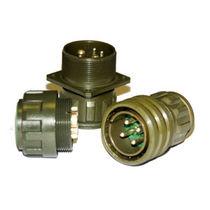 Connecteur d'alimentation électrique / circulaire / à visser / multipolaire
