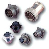 Connecteur à filtre EMI / d'alimentation électrique / circulaire / à baïonnette